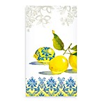 Lemon Damask 3-Ply Guest Towels (Pack of 15)