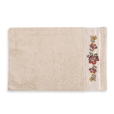 croscill 174 mosaic floral bath rug bed bath beyond