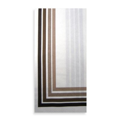 IHR 16-Count Bronze Wave Guest Towels