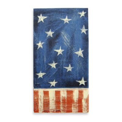 Stars & Stripes 16-Count Guest Towels