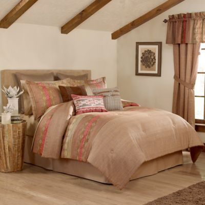 Raymond Waites Monteray 4-Piece Queen Comforter Set