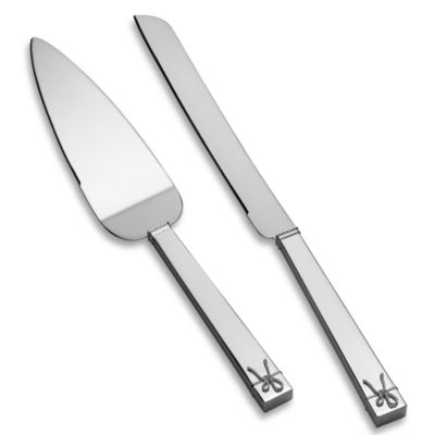 Vera Wang Wedgwood® Love Knots Cake Knife and Server Set