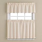 Hopscotch Window Curtain Tier Pairs in Neutral