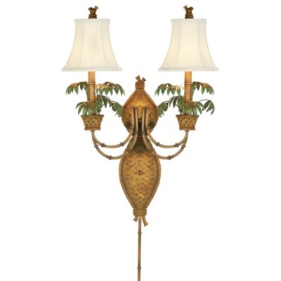 Pacific Coast® Lighting Polynesian Paradise Wall Mount Lamp