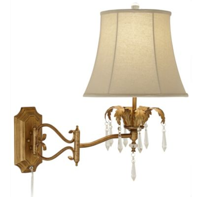 Wall Lamps Bed Bath Beyond : Buy Pacific Coast Lighting Moroccan Mist Swing Arm Wall Lamp from Bed Bath & Beyond