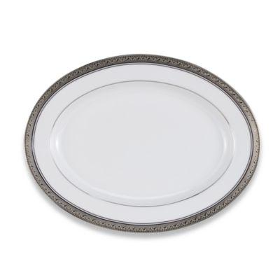 Crestwood Platinum 12-Inch Oval Platter