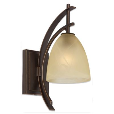 Bronze Wall Lamp