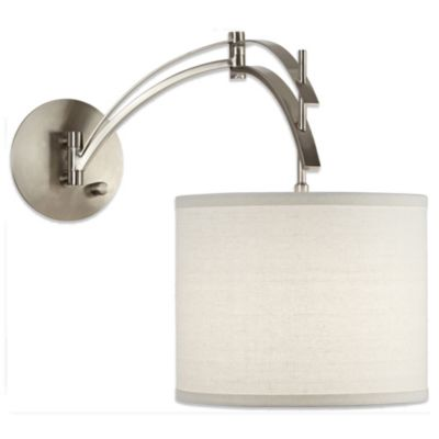 Brushed Nickel Wall Lamp