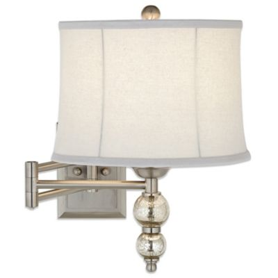 Pacific Coast Lighting Manhattan Chic Swing Arm Wall Lamp