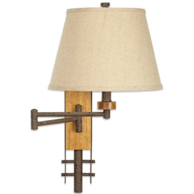 Pacific Coast® Lighting Westfork Swing Arm Wall Lamp