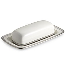 Aegean Mist Covered Butter Dish