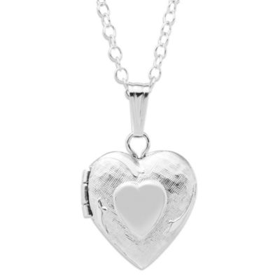 Children's Sterling Silver Hearts Locket