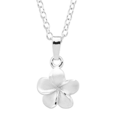 Precious Things Children's Sterling Silver Flower Pendant