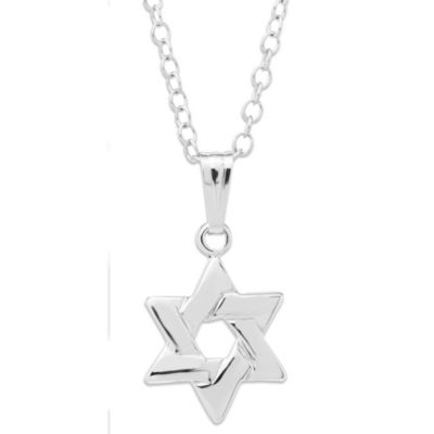 Precious Things Children's Sterling Silver Star of David Pendant