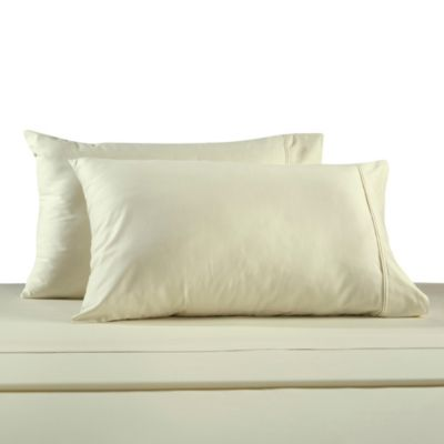 330-Thread Count 100% Cotton Sateen King Sheet Set in Ivory