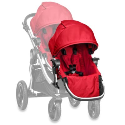 Baby Jogger® City Select® Silver Frame Second Seat Kit in Ruby