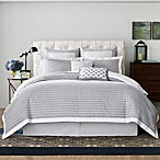 Real Simple Soleil Duvet Cover in Grey