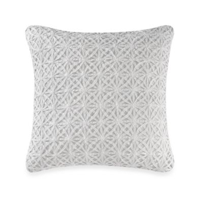 Real Simple® Soleil Square Throw Pillow in Aqua