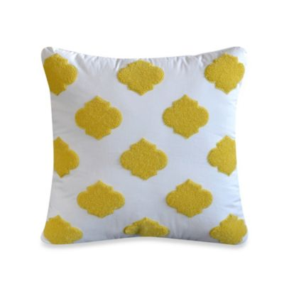 Dena™ Home Payton Applique Square Throw Pillow