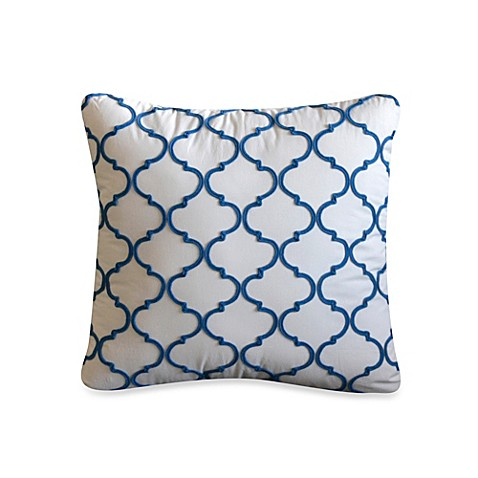 Newport Throw Decorative Pillows : Dena Home Newport 18-Inch Square Throw Pillow - Bed Bath & Beyond