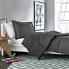 Solid Comforter Set in Forged Iron