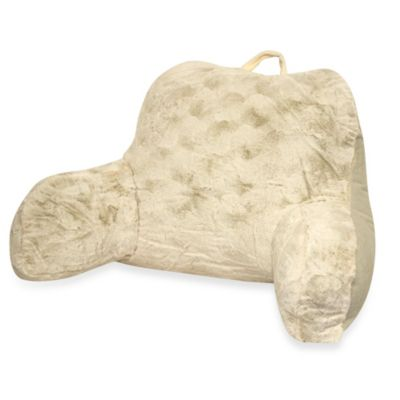 Crystal Fur Backrest in Ivory