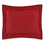 Traditions Linens Farrah Boudoir Pillow Sham in Red