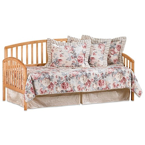 Hillsdale Carolina Daybed with Suspension Deck and Roll-Out Trundle