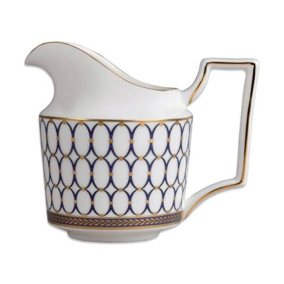 Dishwasher Safe Gold Creamer