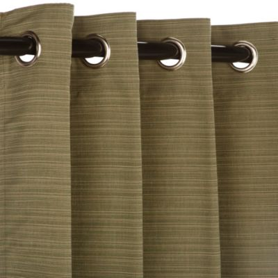 Pawleys Island Sunbrella® 84-Inch Grommet Top Outdoor Window Curtain Panel in Sage