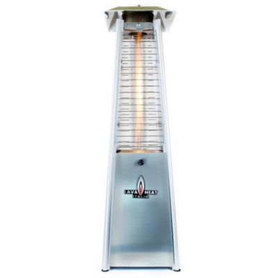 Lava Heat Table Top Propane Patio Heater in Stainless Steel