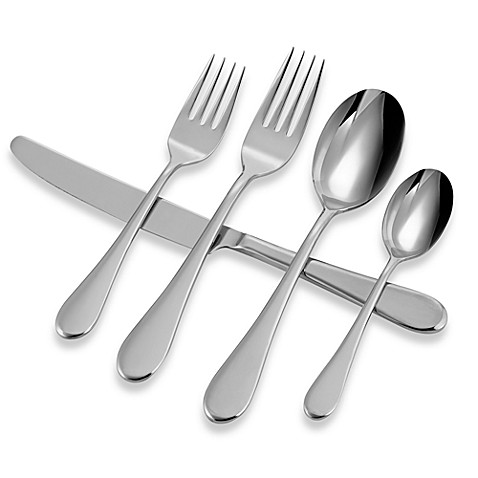 Buy Oneida® Voss 45-Piece Flatware Set from Bed Bath & Beyond