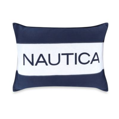 Nautica® Mainsail Breakfast Throw Pillow in Navy