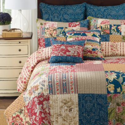 B. Smith® Brunswick Twin Quilt