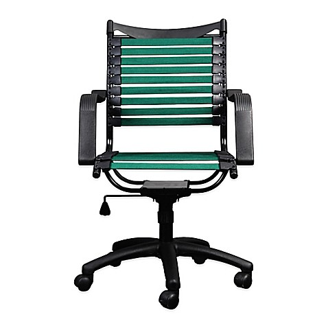 buy bungee task chair in teal from bed bath beyond