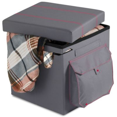 Anthology™ Folding Storage Ottoman in Cargo