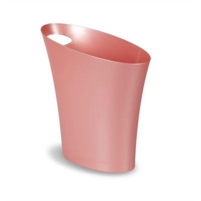 Umbra® Skinny Can Waste Basket in Coral