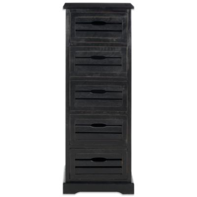 Safavieh Sarina 5-Drawer Cabinet in Black