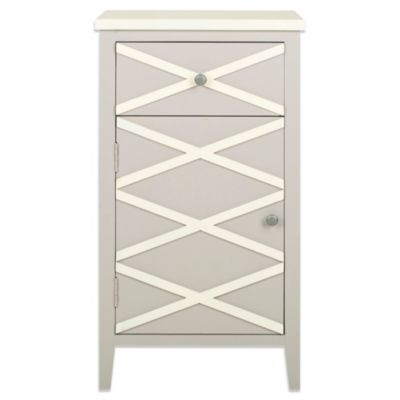 Safavieh Brandy Small Cabinet in Grey
