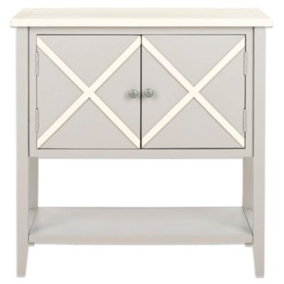 Safavieh Polly Sideboard in Light Blue/White