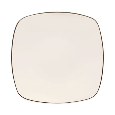 Noritake® Colorwave Square Dinner Plate in Chocolate