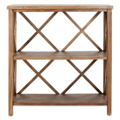 Safavieh Liam Open Bookcase in Oak