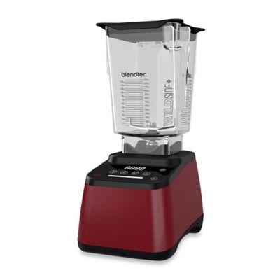 Blendtec® Designer 625™ Blender with WildSide Tritan Jar in Red