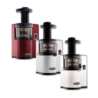 Omega® VSJ843Q Low Speed Juicer in Red