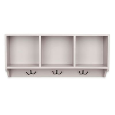 Safavieh Alice Wall Shelf in Steel/White