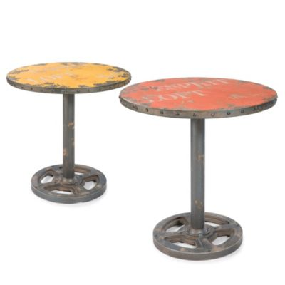 Moe's Home Collection Wheel Round Table