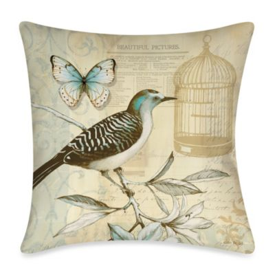 19-Inch Outdoor Throw Pillow in Freedom 1