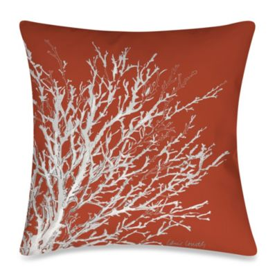 19-Inch Outdoor Toss Pillow in Coastal Coral 2