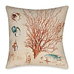 19-Inch Outdoor Toss Pillow in Coral Medley 2