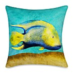 19-Inch Outdoor Toss Pillow in Fish 1